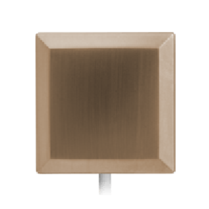 Square Brushed Nickel