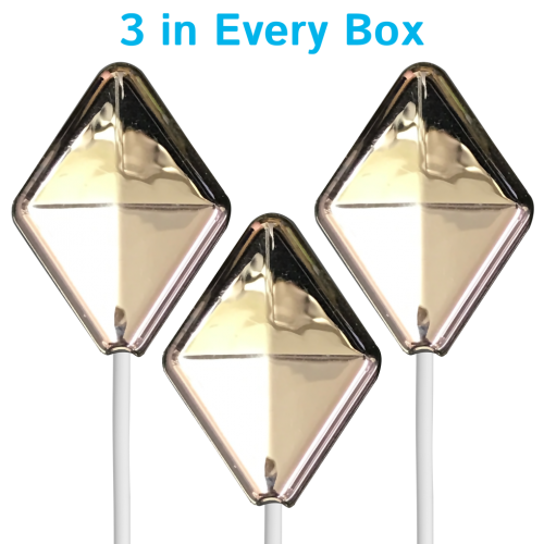 A set of 3 Diamond Stainless in every box