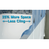 Up to 25% more shower space