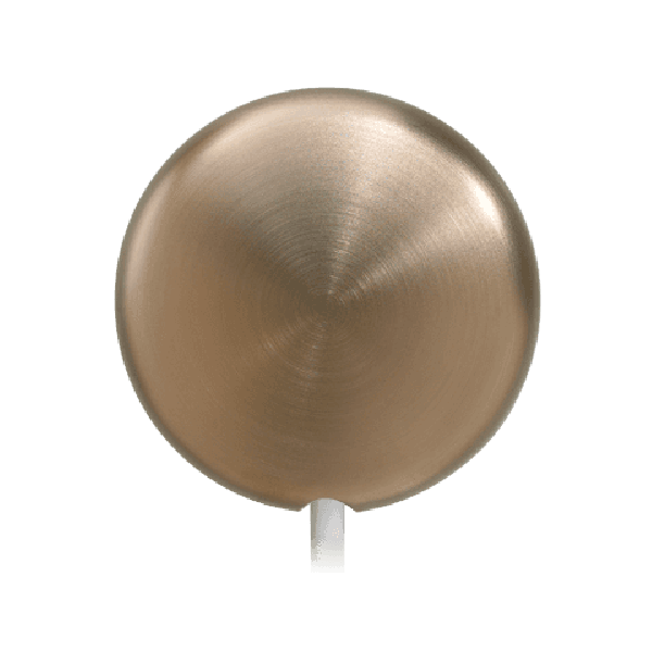 Round Brush Nickel